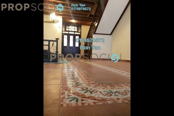 Terrace For Sale in Jalan Muntri, Georgetown Freehold Semi Furnished 3R/3B 1.9m
