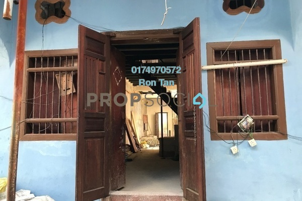 Terrace For Sale in Lorong Stewart, Georgetown Freehold Unfurnished 3R/3B 1.5m