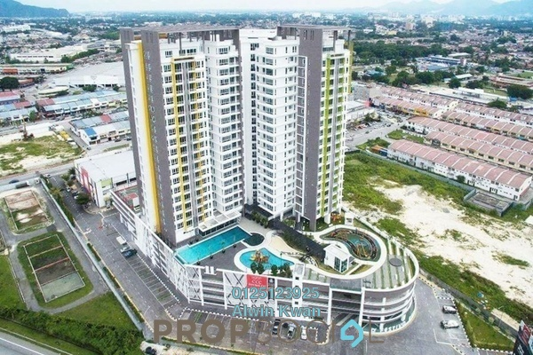 Condominium For Rent in D'Festivo Residences, Ipoh Freehold Fully Furnished 3R/2B 2.3k