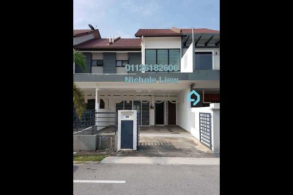 Link For Rent in Bandar Puteri Klang, Klang Freehold Semi Furnished 4R/3B 1.35k