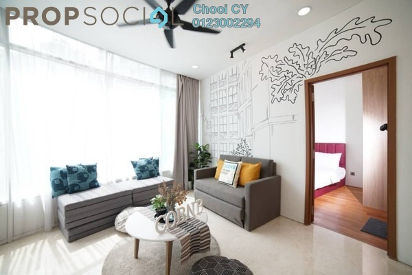 Serviced Residence For Rent in Vortex Suites & Residences, KLCC Freehold Fully Furnished 2R/2B 2.3k