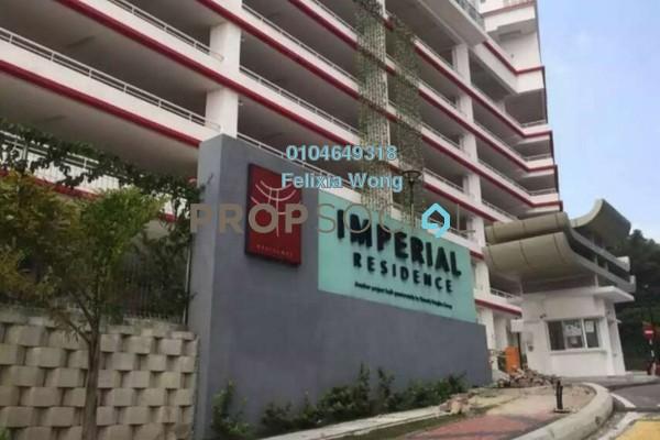 Condominium For Rent in Imperial Residences, Sungai Ara Freehold Semi Furnished 3R/2B 1.3k