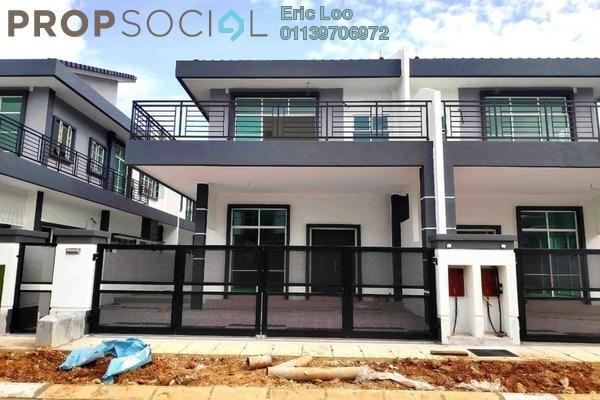 Semi-Detached For Sale in Taman Bercham Idaman, Ipoh Leasehold Semi Furnished 4R/3B 476k