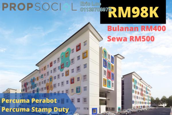 SoHo/Studio For Sale in Taman Iskandar Perdana, Seri Iskandar Leasehold Semi Furnished 1R/1B 98k