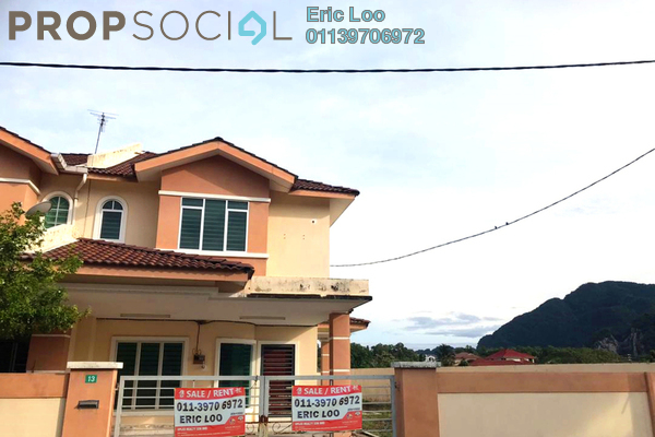 Terrace For Sale in Bandar Pulai Jaya, Simpang Pulai Freehold Semi Furnished 4R/3B 450k