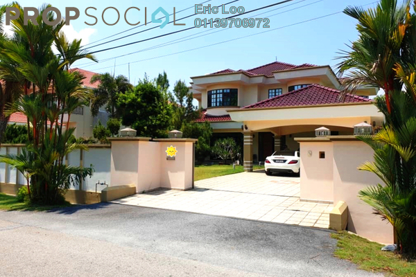 Bungalow For Sale in Meru Valley Golf and Country Club, Ipoh Leasehold Semi Furnished 7R/6B 2.8m