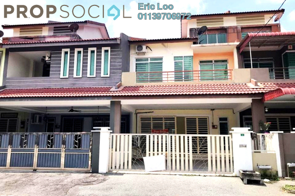 Terrace For Sale in Bandar Cyber, Ipoh Leasehold Unfurnished 4R/4B 350k