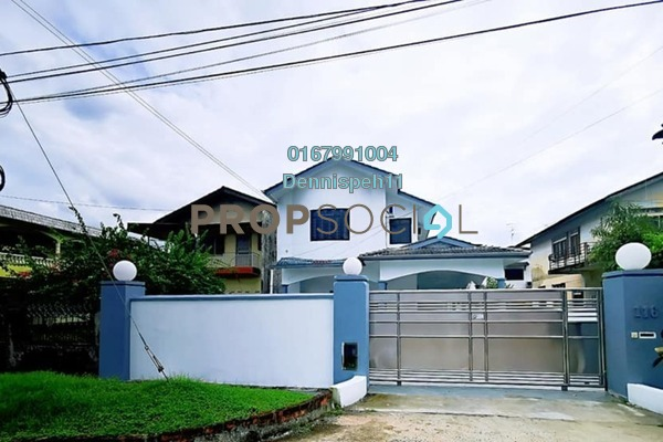 Semi-Detached For Sale in Taman Iskandar, Johor Bahru Freehold Unfurnished 6R/4B 830k