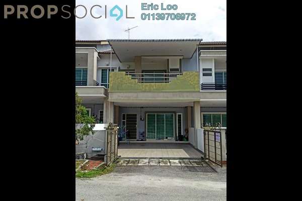 Terrace For Sale in Bandar Seri Botani, Ipoh Freehold Semi Furnished 4R/3B 465k