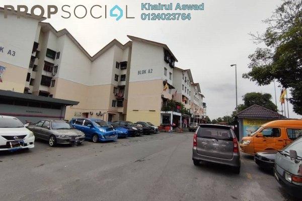 Apartment For Sale in Bandar Putera Klang, Klang Freehold Unfurnished 3R/2B 120k