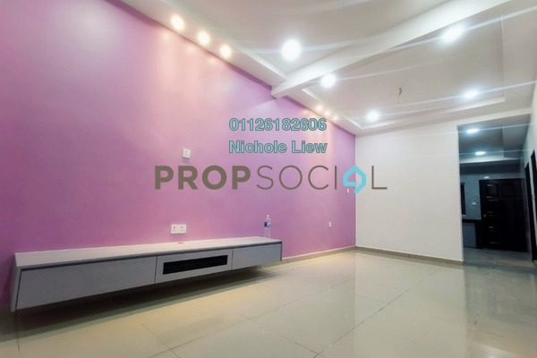 Terrace For Sale in Taman Sentosa, Klang Freehold Semi Furnished 3R/2B 368k