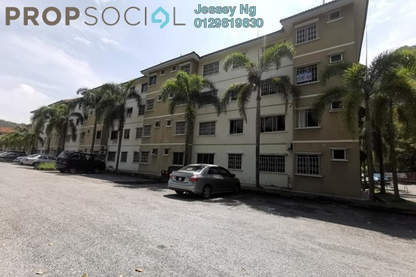 Apartment For Rent in Permai Lake View Apartment, Ipoh Freehold Unfurnished 3R/2B 700translationmissing:en.pricing.unit