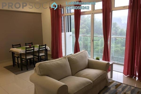 Serviced Residence For Rent in Dwiputra Residences, Putrajaya Freehold Fully Furnished 3R/3B 2.4k