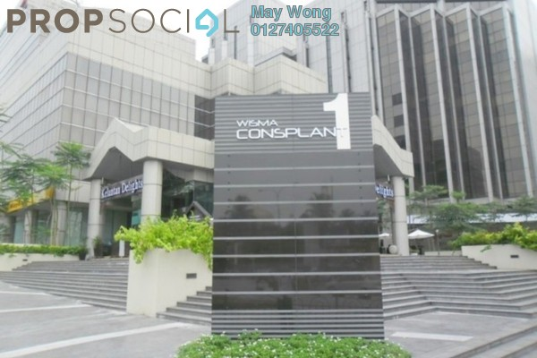 Office For Rent in Wisma Consplant, Subang Jaya Freehold Semi Furnished 0R/0B 32.6k