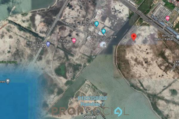 Land For Sale in Taman Klebang Utama, Melaka Freehold Unfurnished 0R/0B 15.6m