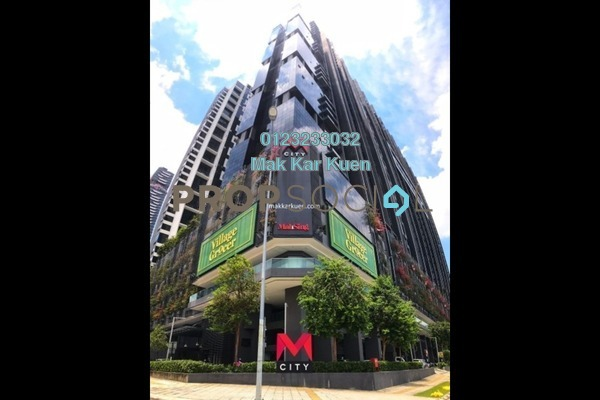 Serviced Residence For Sale in M City, Ampang Hilir Freehold Semi Furnished 3R/2B 650k