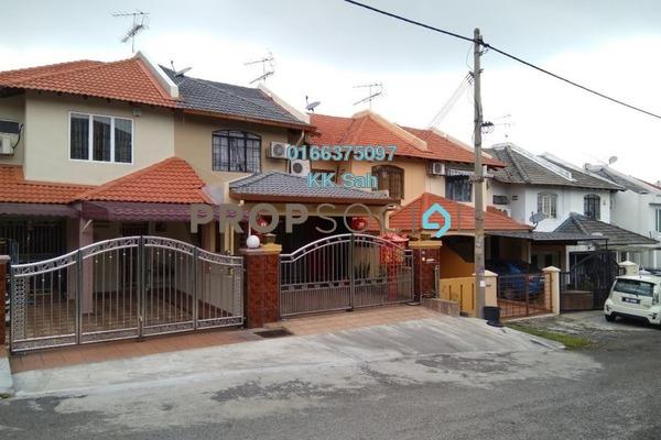 Terrace For Sale in Taman Len Sen, Cheras Freehold Semi Furnished 3R/3B 480k