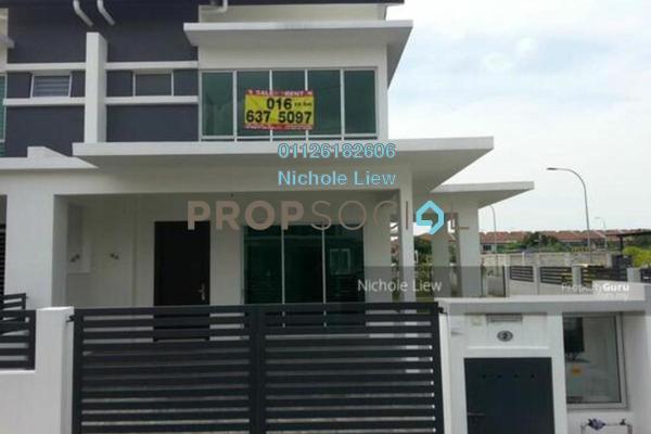 Terrace For Sale in Taman Sejati 5, Klang Freehold Semi Furnished 4R/3B 660k