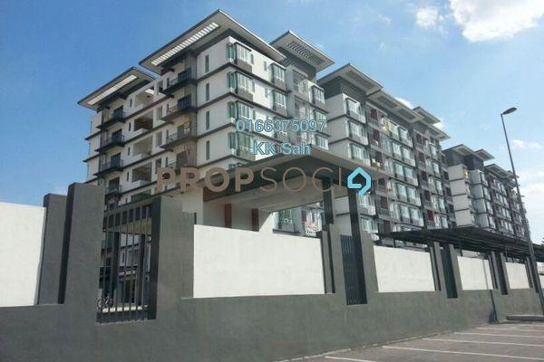 Condominium For Sale in Mahkota Residence, Bandar Mahkota Cheras Freehold Semi Furnished 3R/2B 358k