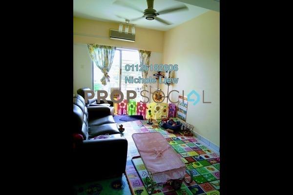 Condominium For Sale in Sri Hijau, Bandar Mahkota Cheras Freehold Semi Furnished 3R/2B 270k