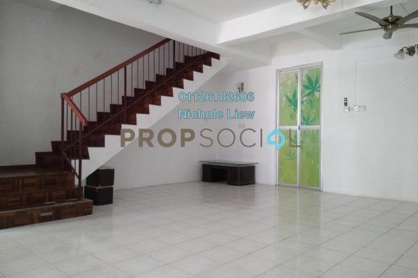 Link For Sale in Section 3, Bandar Mahkota Cheras Freehold Semi Furnished 4R/3B 518k