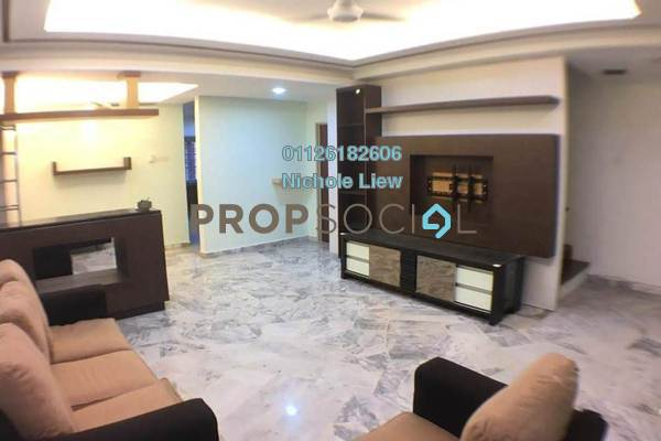 Terrace For Sale in Section 1, Bandar Mahkota Cheras Freehold Semi Furnished 4R/3B 608k