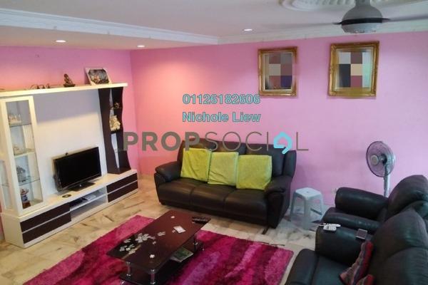 Terrace For Sale in Section 5, Bandar Mahkota Cheras Freehold Semi Furnished 4R/3B 510k