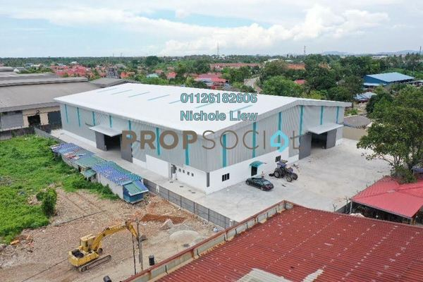 Factory For Sale in Rantau Panjang, Klang Freehold Semi Furnished 3R/4B 9.8m