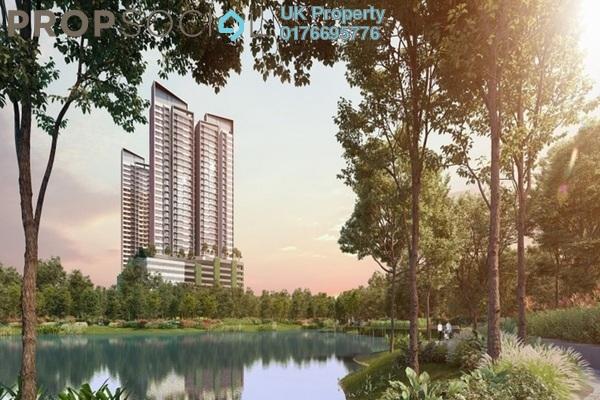 Serviced Residence For Sale in The Amber Residence @ twentyfive.7, Telok Panglima Garang Leasehold Semi Furnished 2R/1B 435k