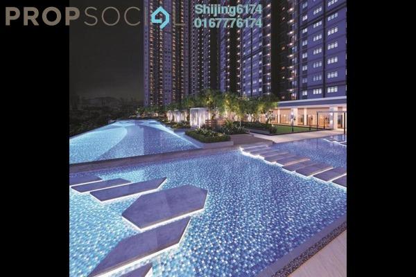 Condominium For Sale in Minest Residences Sentul, Sentul Freehold Semi Furnished 4R/3B 480k
