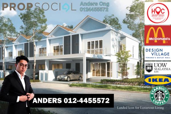 Terrace For Sale in Aspen Vision City, Batu Kawan Freehold Unfurnished 4R/3B 770k