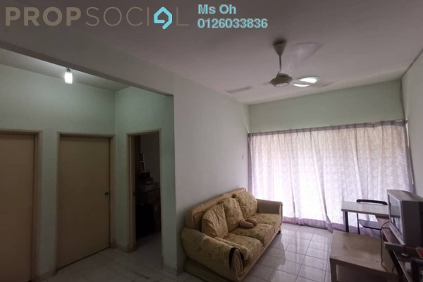 Apartment For Rent in Sri Camellia Apartment, Bandar Puteri Puchong Freehold Semi Furnished 3R/2B 1.2k