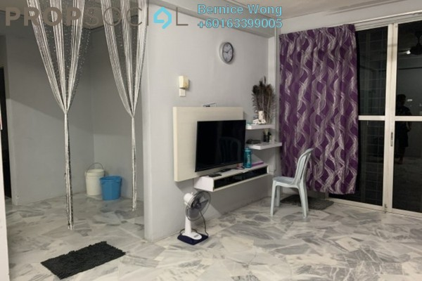 Apartment For Sale in Pinang Court 1, Jelutong Freehold Semi Furnished 3R/2B 298k