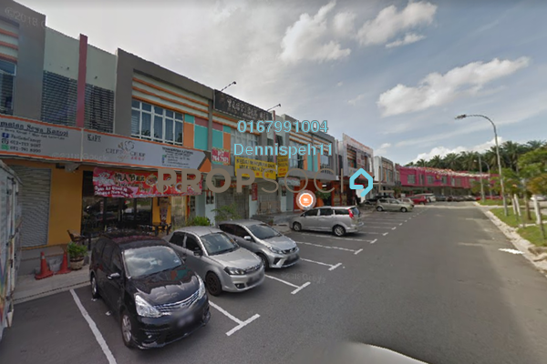 Shop For Sale in Taman Dato Chellam, Ulu Tiram Freehold Unfurnished 0R/0B 700k