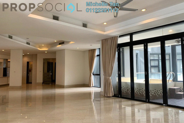 Condominium For Sale in Gallery U-Thant, Ampang Hilir Freehold Semi Furnished 3R/3B 3.25m