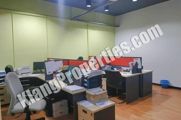 Office For Rent in Bandar Bukit Tinggi 1, Klang Freehold Fully Furnished 0R/0B 3.5k