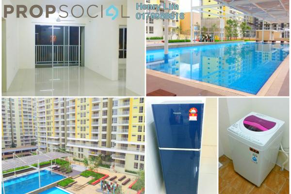 Condominium For Rent in Platinum Lake PV15, Setapak Freehold Semi Furnished 4R/2B 1.5k