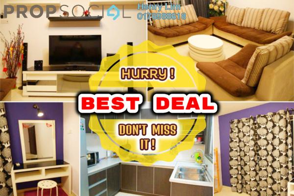 Condominium For Rent in Platinum Lake PV12, Setapak Freehold Fully Furnished 3R/2B 1.6k