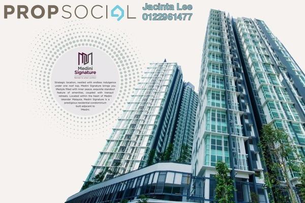 Condominium For Sale in Medini Signature, Medini Freehold Semi Furnished 4R/5B 550k