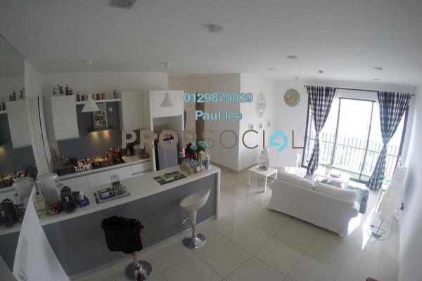 Condominium For Sale in TRiGON Luxury Residences @ Setia Walk, Pusat Bandar Puchong Freehold Semi Furnished 3R/2B 655k